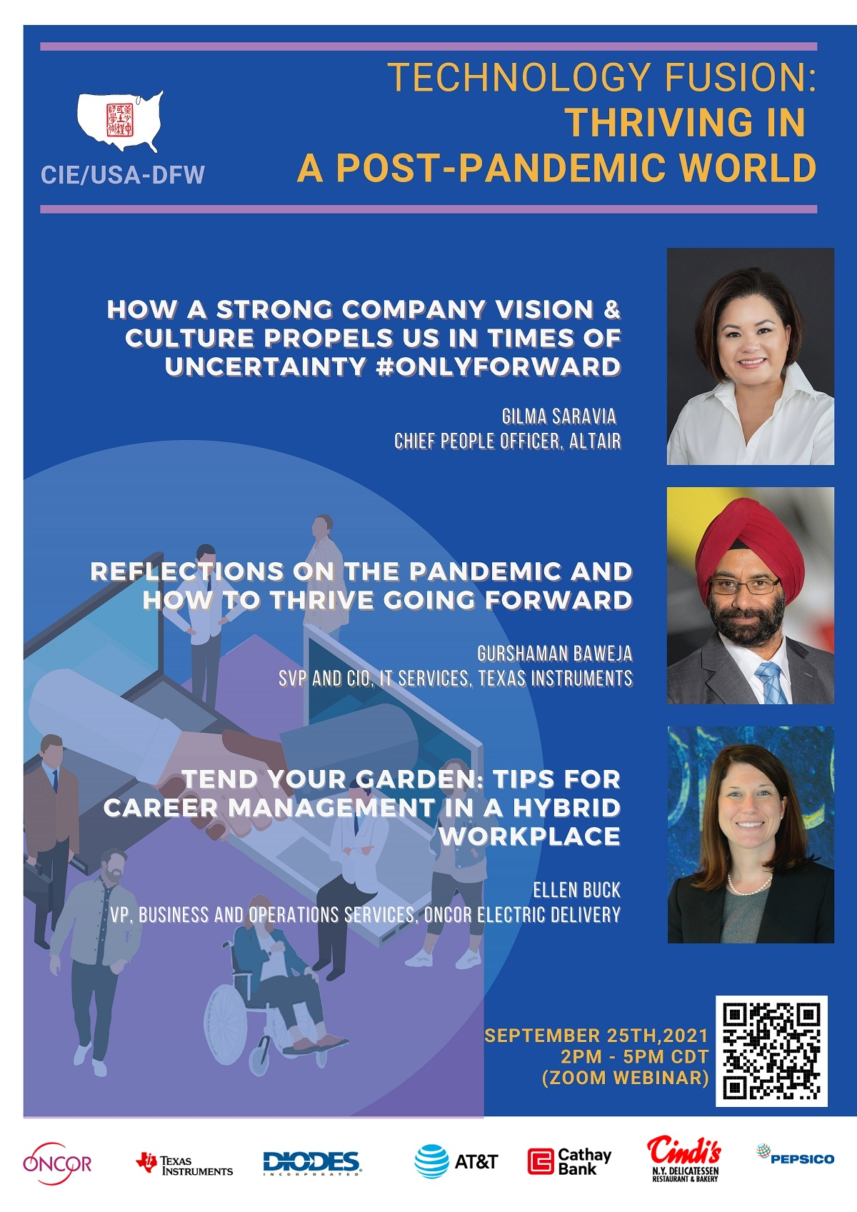 ONLINE: 2021 CIE/USA-DFW Leadership and Career Development Seminar