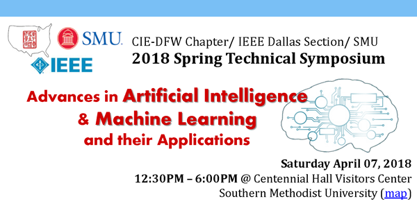 2018 CIE/USA-DFW Spring Technology Symposium