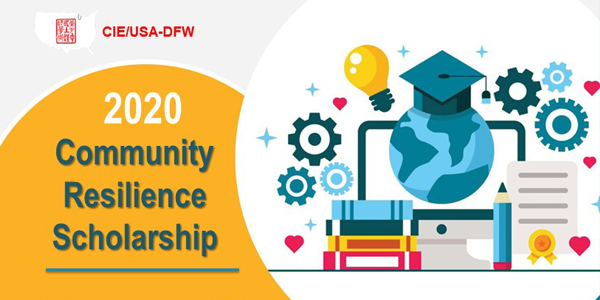 ONLINE: 2020 CIE/USA-DFW Community Resilience Scholarship