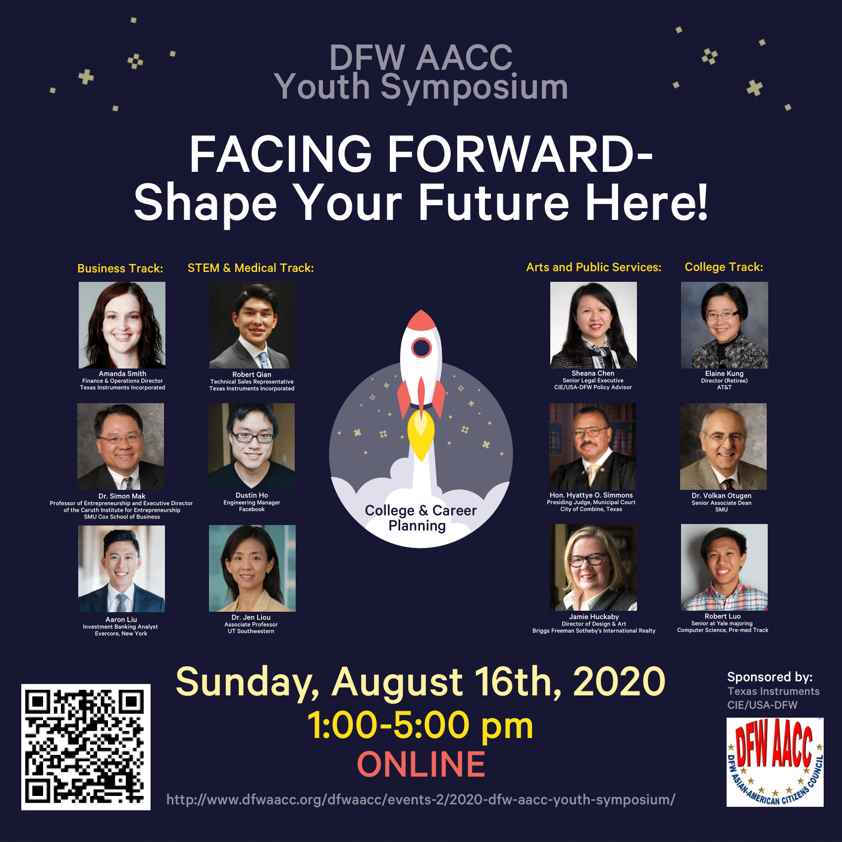 Affiliate Event – 2020 DFW AACC Youth Symposium